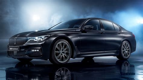 2017 BMW 7 Series Black Ice Edition (RU) - Wallpapers and