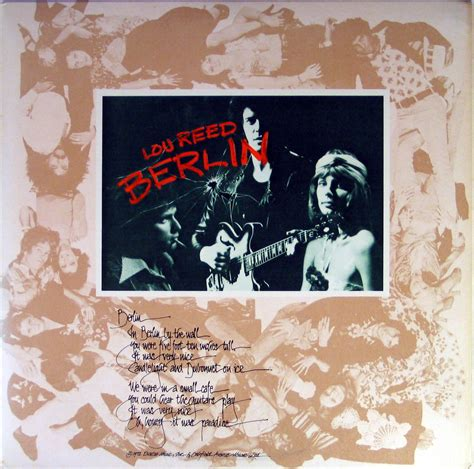 Moon In The Gutter: More Than Just I: Lou Reed's BERLIN at