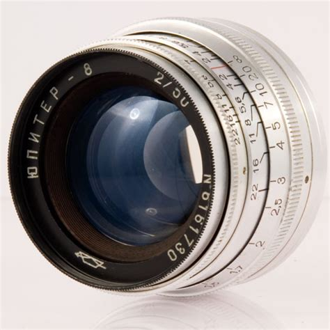 The Jupiter-8 50 mm f/ 2 Lens