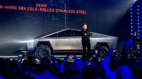 Elon Musk hints at more compact Tesla Cybertruck with same