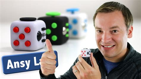 Antsy Labs Fidget Cube Review - Unboxing and Knockoff