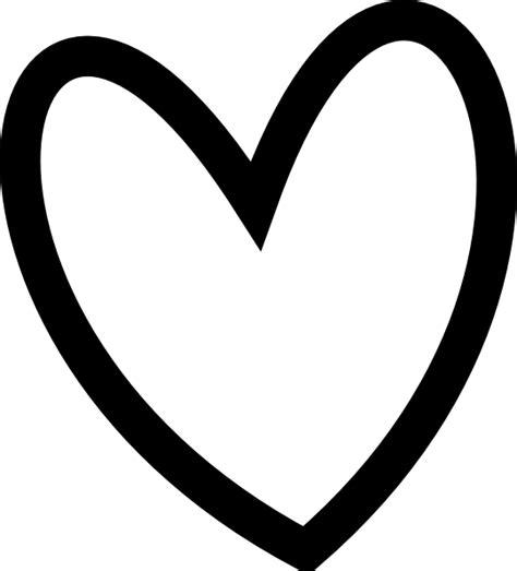 Black Heart Outlines | Clipart library - Free Clipart Images