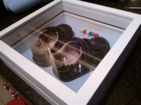 Baby's first shoes display box - IKEA Hackers - IKEA Hackers