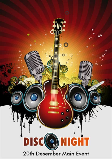 Music Event Background - Ai, Svg, Eps Vector Free Download