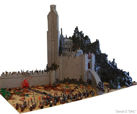 Epic LEGO LORD OF THE RINGS Helm's Deep Set — GeekTyrant