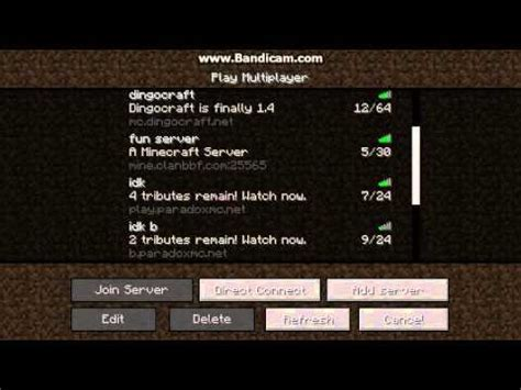 I want some multiplayer servers for minecraft
