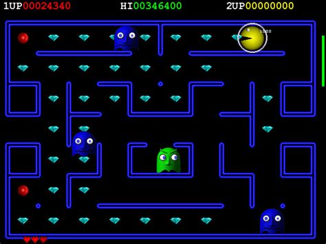 Freeware / Freegame: Deluxe Pacman v1