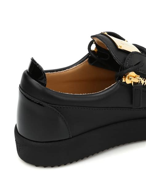 Giuseppe Zanotti - Leather low top sneakers - trainers