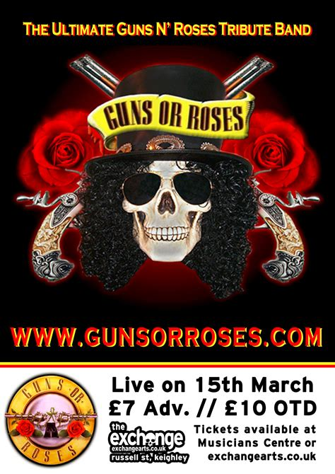 The Exchange, Keighley » Blog Archive Guns or Roses