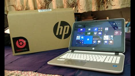 HP Pavilion 15-p202tu( with beats audio) unboxing and