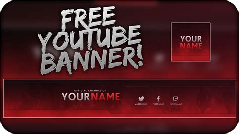 15 YT Banner Template PSD Images - YouTube Banner Template