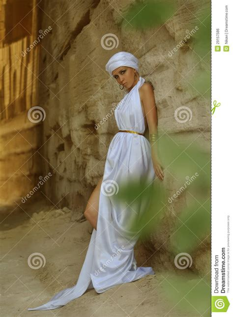 Arab girl stock photo
