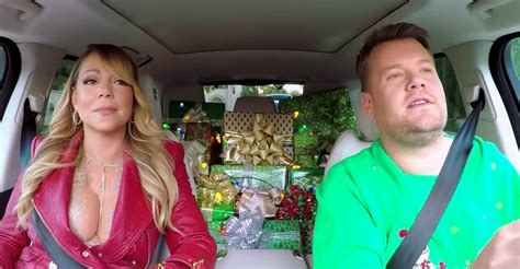 Mariah Carey: Carpool Karaoke Christmas special with James