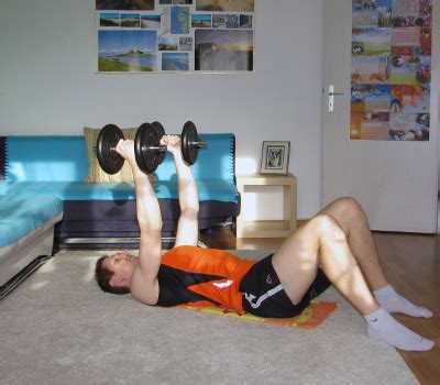 Floor Flys With Dumbbells Form, Muscles Worked, Benefits