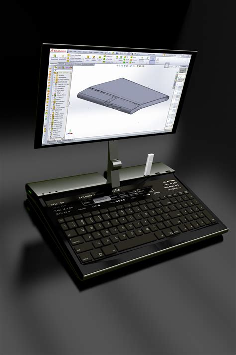 Glimpse of The Future: The Ultra Desktop Replacement PC (U