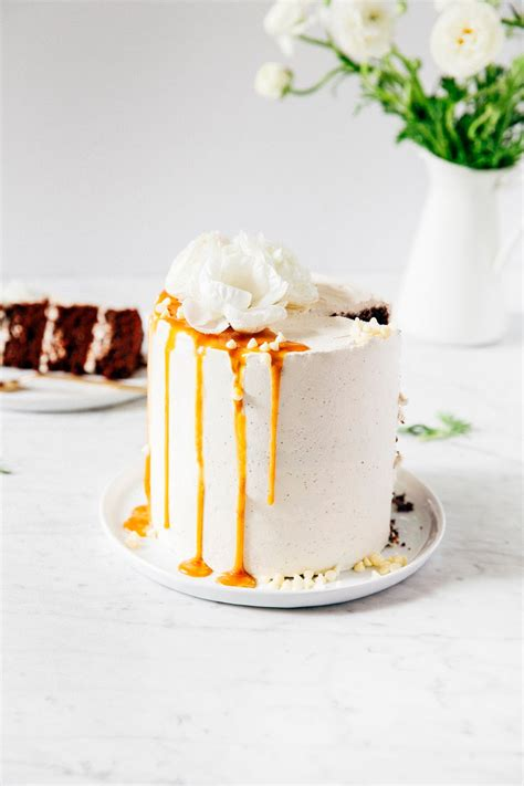 chocolate and earl grey london fog layer cake