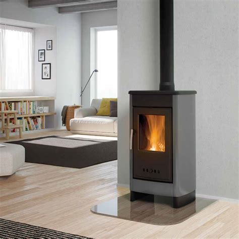 Calore - Free Standing, Wood Burning Fireplaces
