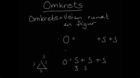 Omkrets - YouTube