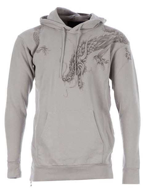 Balmain Embroidered Hoodie in Gray for Men (grey)   Lyst