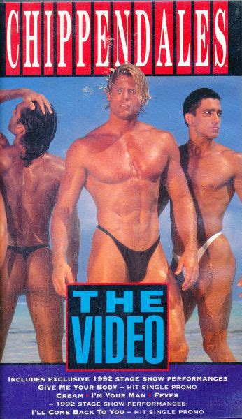 Chippendales - The Video (1992, VHS) | Discogs