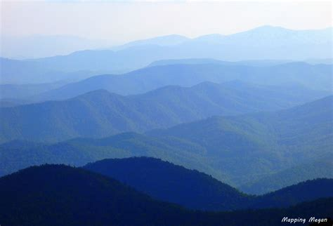 View from the Blue Ridge Parkway: Photo Essay - Mapping Megan