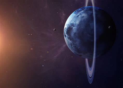 Fun Space Facts for Children: Uranus, the Lone Side