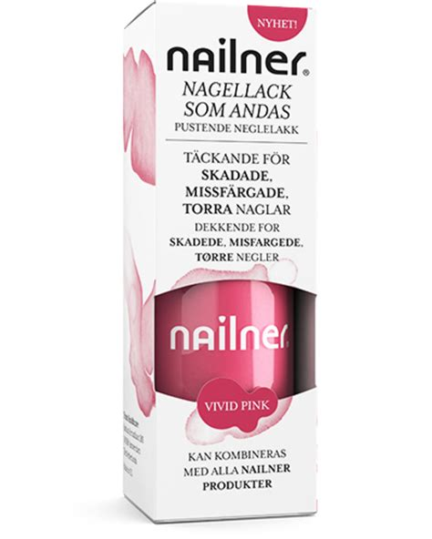 Nailner neglelakk Vivid Pink 8 ml - Pulsapotek Skøyen AS