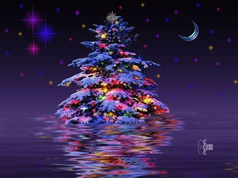 3D Christmas Wallpapers - Wallpaper Cave