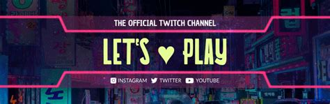 Create Rad Twitch Banners for Your Channel | Placeit