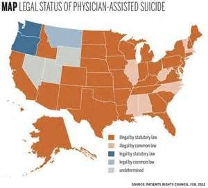 Where is Euthanasia legal in the United States? | U