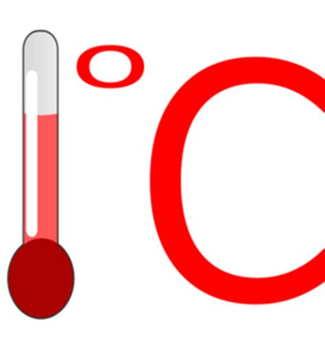 Degrees celsius clipart - Clipground