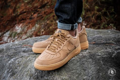 Nike Air Force 1 '07 WB Flax/Gum Light Brown-Outdoor Green