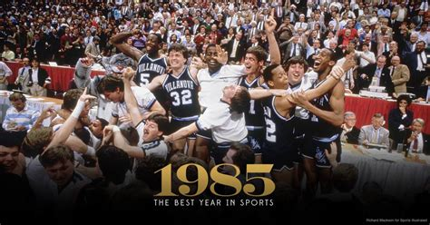 The Perfect Game: Villanova's 1985 victory over Georgetown